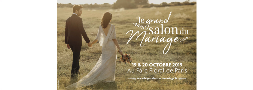 Grand Salon du Mariage - Wedding Fair Parc Floral Paris France October 2019